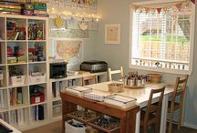 Homeschool Spaces / Places for learning / by Serina Toman