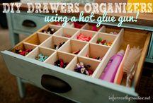 DIY Drawer Dividers/Organizers / by Kristina Reynolds-Haney