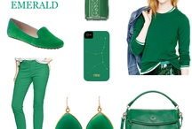 Gimmie Green / The Pantone Color of 2013 is Emerald Green! See how much fun you can have with it.  / by Allyson Gulick Gemline