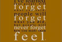 Words To Live By.... / by Stephanie Arrington