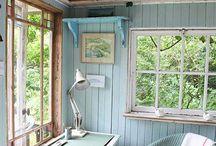Home Office Ideas / by Julie O'Day Whitt