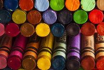 Colors! Colors! Colors! / by Eva Mozingo