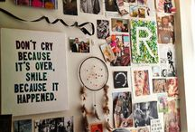 LIVING: small dorm space/ideas / by Marissa Madison