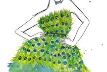 A slight obsession with peacock / by Michelle 'Russell' Forst