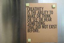Creativity / by Sabrina Bussolati