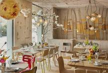 Temáticas, ambientes y decoraciones auténticos para restaurantes. / by Lalo Torres