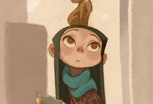 Illustration / by Rachel Rdrz