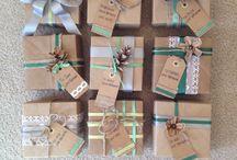 Gift wrapping / by Penelope Tsakalou