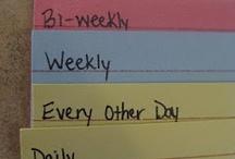 Getting Organized / by Tamara Hintz