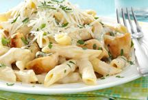 Pasta's of all kinds / by Anna Marie