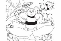 Coloring Pages / by Elisa Armstrong {Elisa Loves Blog}