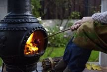 fireplaces / by Scoots Lovely