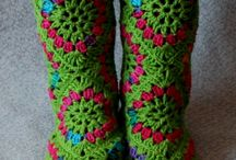Crochet Footwear / by Aura Lipinski