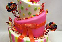 cute cakes / by Natalie Allen