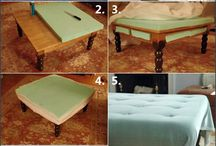 coffee tables and end tables / by Sherry Runge
