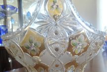 All Things Beautifull  / Crystal - Bohemian Glass - Cut Glass etc. / by Grace Dunn