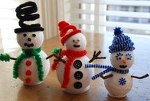 Winter Crafts / A selection of winter crafts that are possible in a Montessori classroom environment - meaning a child can manage it with little help. / by Montessori Print Shop