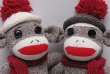 sock monkeys / by Sheila McGuire