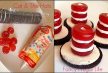 cat in the hat birthday party ideas / by Susan Faulkner Embroidery