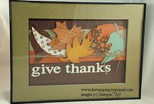 Thankful / Thanksgiving crafts and gifts / Thanksgiving Ideas / by Midnight Crafting with Angela Bodas
