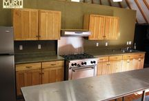 Yurt kitchens / ideas for setting up a kitchen in your yurt / by Colorado Yurt Company