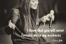 ¥•Christian Songs/Lyrics•¥ / by ~Victoria Rose~