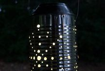 bottle and can upcycles / by Lauri Hayes
