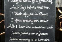 My Memories / by Sandy Stephenson