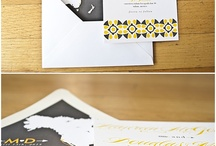 Wedding Stationery / by Dana James Mwangi