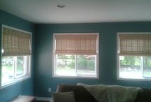 Woven Wood Shades / woven wood window treatments and window coverings. Window blinds and shades for home and office. / by Window Treatments