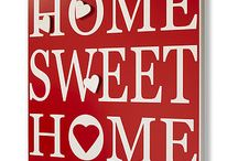 ~Home In Red & White~ / by Tammy Maria Settles