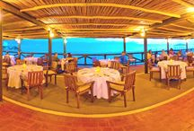 Ribera Restaurant. / Beachfront restaurant with breathtaking ocean and city views,  With incredible vistas of Puerto Vallarta and the Sierra Madre Mountains, La Ribera serves delicious Mexican, Spanish and international cuisine, incl / by Velas Vallarta