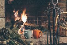 FIRE-PLACE  AND  WOODSTOVE... / by Bea Wamsteeker