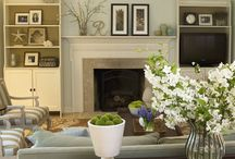Home decor:living rooms / home decor and living room and living spaces / by Jen Rizzo