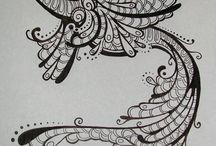 Doodles & Drawings / by Kathleen Calahane