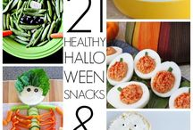 Healthy Halloween Tricks and Treats / Healthy Ideas for Halloween / by Kristie Belliston