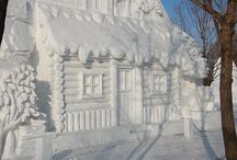 Arty ice & snow / by Arlene Mafud