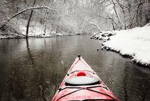 Kayaking ( Scott's board ) ❤️ / by Helen Hayes