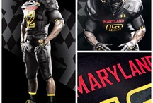 Maryland Uniforms / Find all the unique Under Armour uniforms worn by the Terps! / by Maryland Terrapins