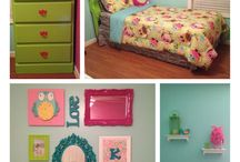 Caleigh's bedroom ideas / Girls bedroom ideas / by Samantha Jackson