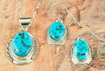 Sleeping Beauty Turquoise Jewelry / by Treasures of the Southwest.com