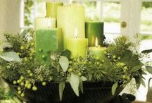 Christmas Arrangements / A collection of Christmas centerpieces and holiday home arrangements. / by Terri Marshall