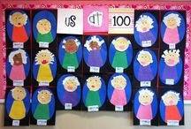 Kindergarten Unit 100th Day of School / by Angie Bonthuis