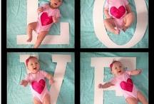 Baby pic ideas / by Samantha Hampton