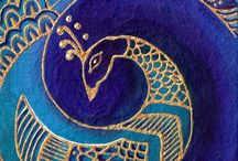 Peacock /     Glory ~ Vision ~ Royalty ~ Spirituality ~ Awakening ~ Immortality ~ Refinement ~ Incorruptibility - The Peacock has a thousand eyes to hunt the cobras hiding in the gardens of paradise / by Maya Heath