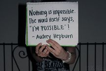 cool quotes / by Camille Anderson