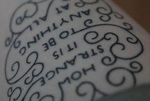 Tattoos / by Maddie T.