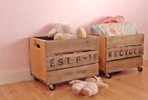 crates. tool boxes. etc. / by judi burrows-inspired (vintage.home.design)