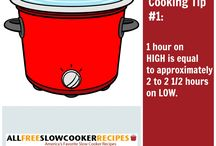 Greatest Cooking Tips and Tricks / Find our best slow cooker cooking tips that will change your life, along with cooking tips and questions answered from all over the Web, including cooking tips & techniques, cooking tips for home cooks, basic cooking tips, cooking tips for beginners, and more. / by SlowCookerRecipes
