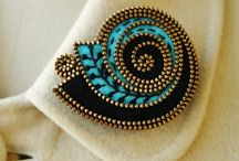 Felt Jewelry / Brooches, bracelets, head bands... You name it! / by pc brown